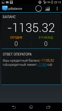 Баланс - USSD piBalance для Android