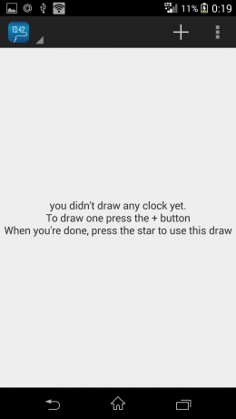Меню - DrawTime для Android