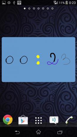 Виджет - DrawTime для Android