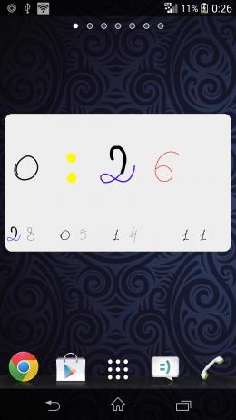 Дата и время - DrawTime для Android