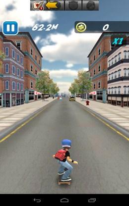Начало езды - Skate Sufers для Android
