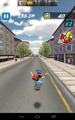 Прыжок - Skate Sufers для Android