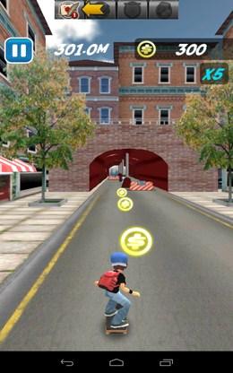 Собираем монеты - Skate Sufers для Android