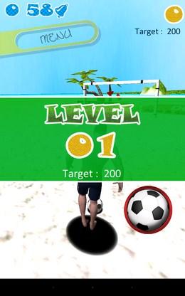 Первый режим - Soccer Beach  для Android