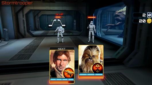 Грубповая битва - Star Wars: Assault Team для Android