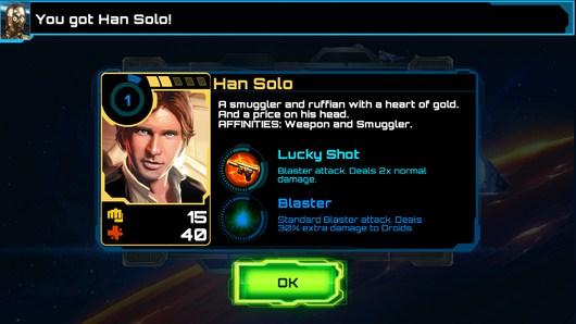 Выбор персонажа - Star Wars: Assault Team для Android