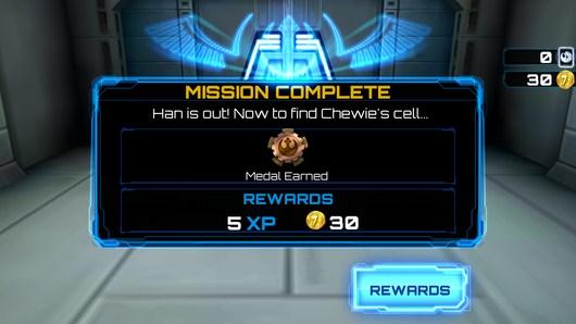 Миссия пройдена - Star Wars: Assault Team для Android