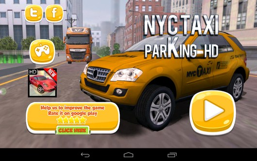Парковка такси TAXI PARKING HD для Android