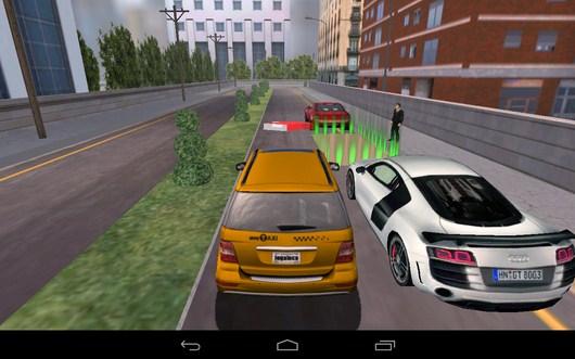 Парковка между машин - TAXI PARKING HD для Android