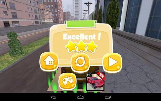 Результат - TAXI PARKING HD для Android