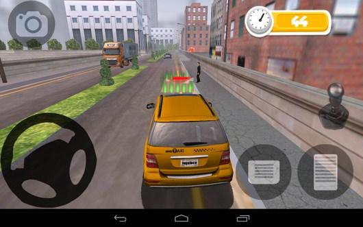 Первая парковка - TAXI PARKING HD для Android