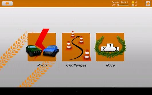 Выбор состязания - TDR 2014 для Android