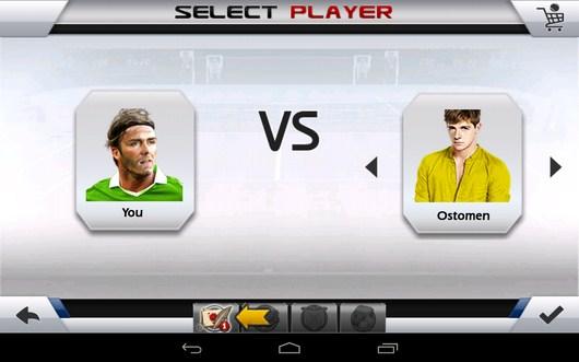 Одиночная игра - Tennis 3D для Android