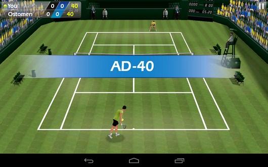 Решающая подача - Tennis 3D для Android