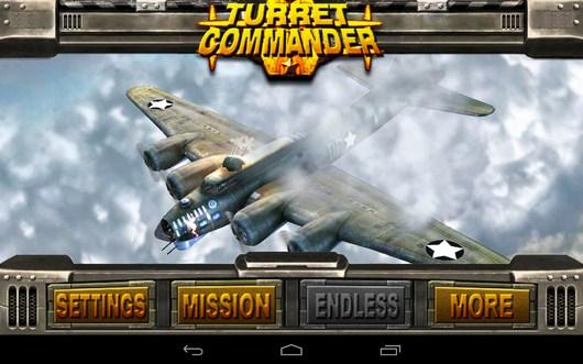 Обстрел самолетов Turret Commander для Android