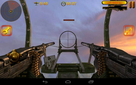Враг на подлете - Turret Commander для Android