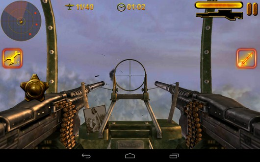 Много врагов - Turret Commander для Android