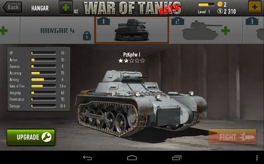 Ваш танк - War of Tanks для Android