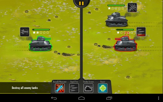 Бой - War of Tanks для Android