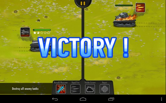 Победа - War of Tanks для Android