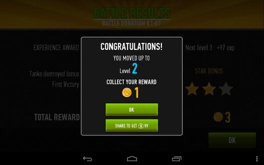 Новый уровень - War of Tanks для Android