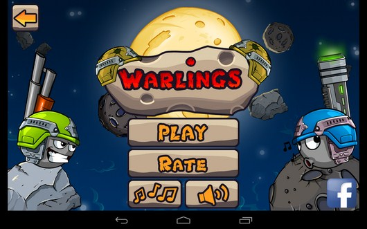 Аркада Warlings: Battle Worms для Android
