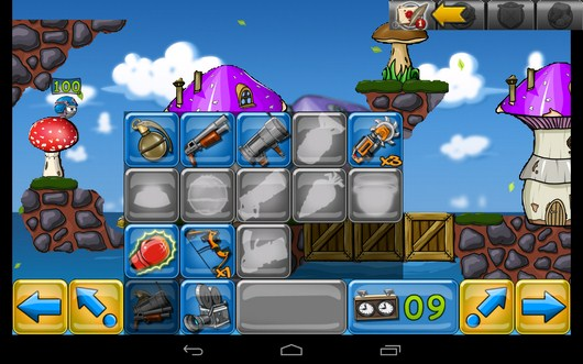 Игровой арсенал - Warlings: Battle Worms для Android