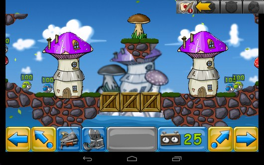 Начало бойни - Warlings: Battle Worms для Android