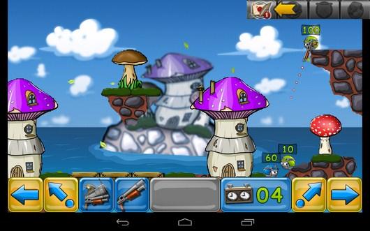 Противник в деле - Warlings: Battle Worms для Android