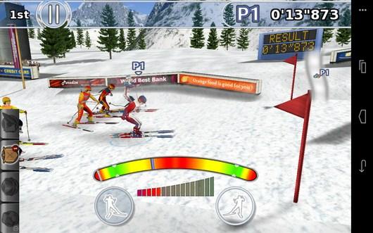 Вырываемся вперед - Winter Sports для Android
