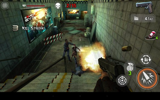 Стрельба по мертвецам - Zombie Assault Sniper для Android