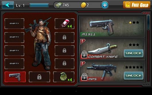 Арсенал бойца - Zombie Assault Sniper для Android