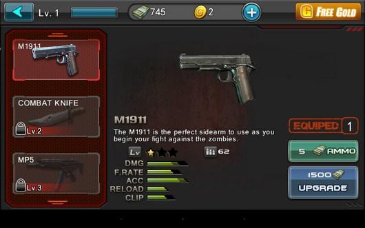 Магазин оружия - Zombie Assault Sniper для Android