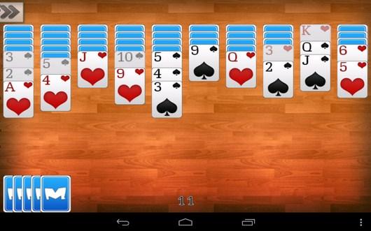 Раскладываем карты - Пасьянс Паук для Android