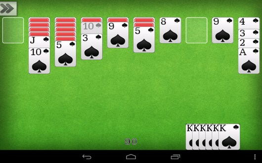 Удачные комбинации - Пасьянс Паук для Android