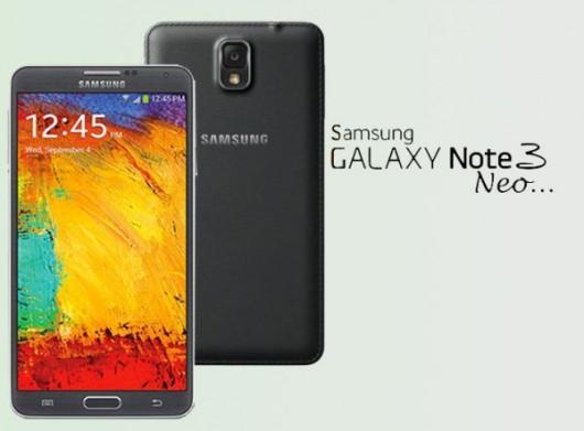 Samsung Galaxy Note 3 Neo черного цвета