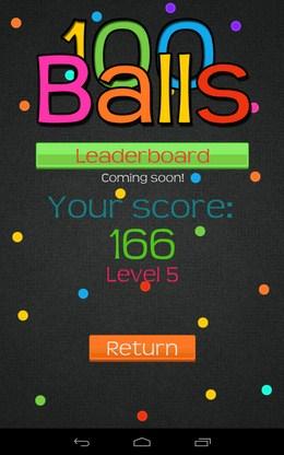 Лучший результат - 100 Balls+ для Android