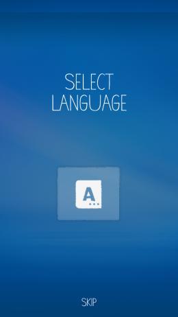 Выбор языка - moxiulauncher для Android