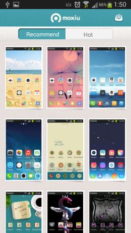 Темы - moxiulauncher для Android
