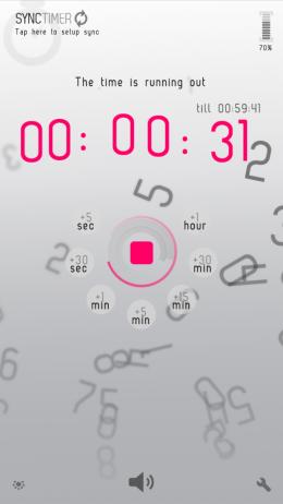 Обратный отсчет - SyncTimer для Android