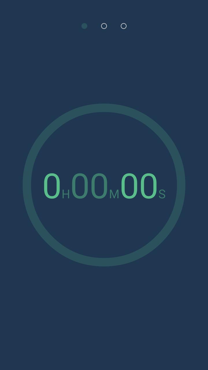Интерфейс - OK Timer для Android