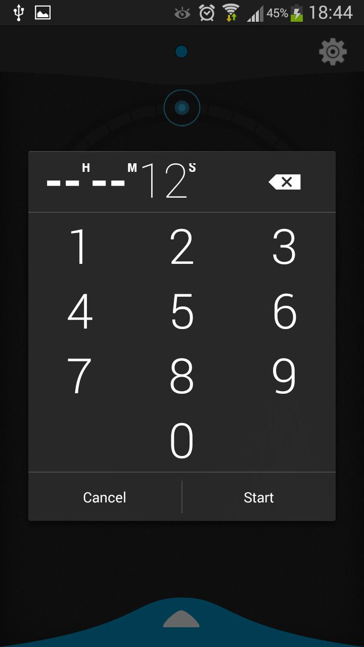 Установка времени - Beautiful Timer для Android