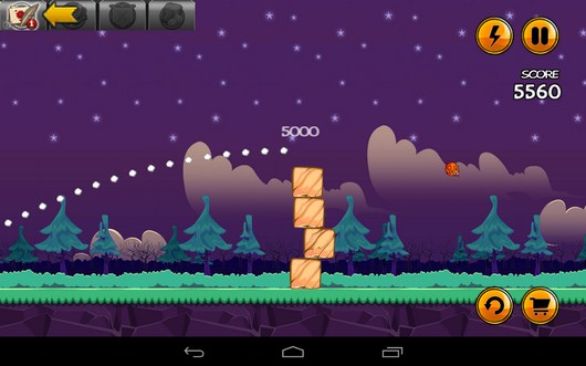 Пес сбит - Angry Cats для Android