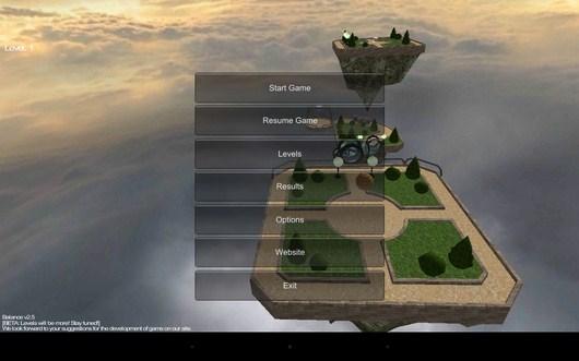 Этапы - Balance 3D для Android