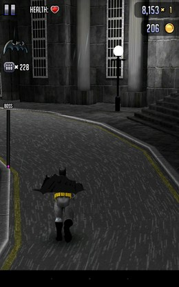 Поворот - Batman & The Flash Hero Run для Android