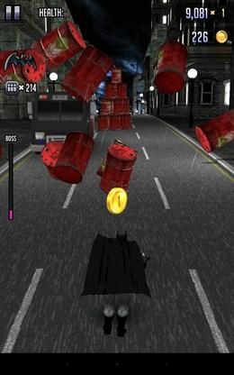 Сносим бочки - Batman & The Flash Hero Run для Android