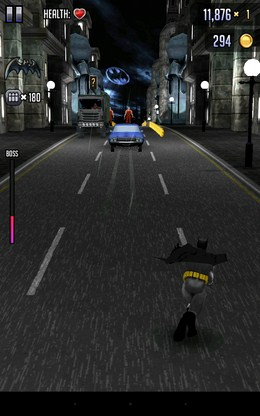 Уворот от машины - Batman & The Flash Hero Run для Android