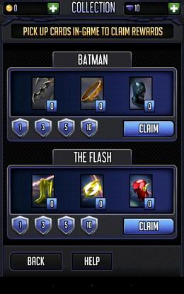 Улучшения - Batman & The Flash Hero Run для Android