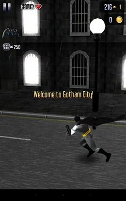 Начало бега - Batman & The Flash Hero Run для Android