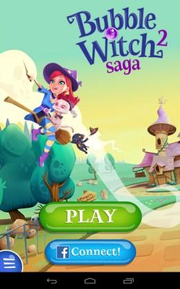 Яркая головоломка Bubble Witch 2 Saga для Android